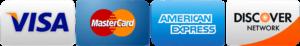 4 Major Credit Cards - Jim Rice AC Services